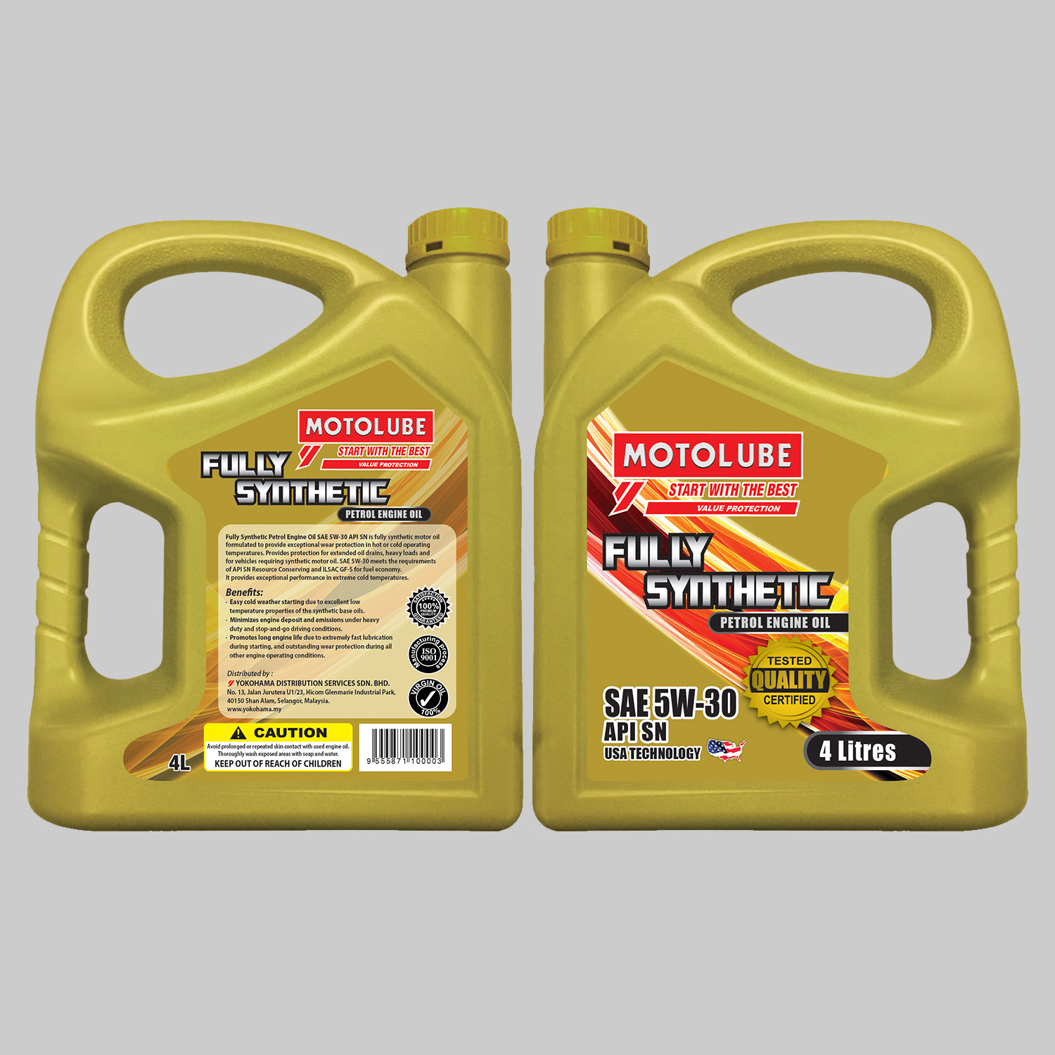 Fully Synthetic Petrol Engine Oil SAE 5W-30