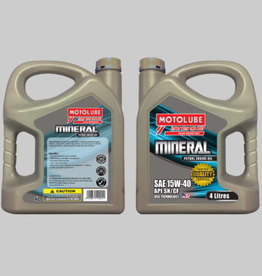 Mineral Engine Oil SAE 15W-40 API SN/CF
