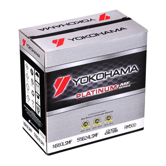 Yokohama platinum mf series yokohama for Bat box obi