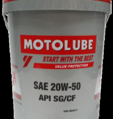 Mineral Engine Oil SAE 20W-50 18L (API SG/CF)