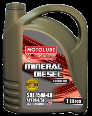 MineralDiesel 15W-40 7L